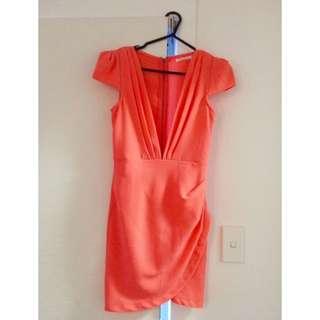 Size 8 Coral Dress