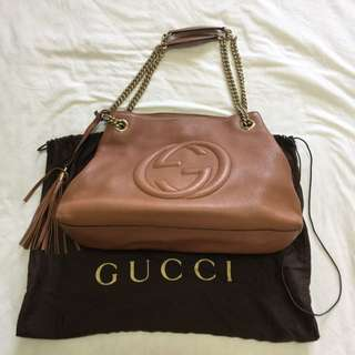 Authentic Gucci Leather Bag
