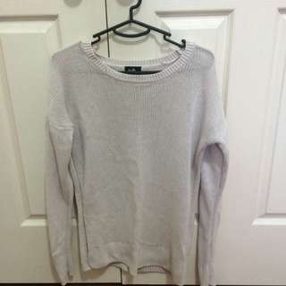 Cream Knit Jumper