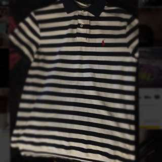 Ralph Lauren 100% Genuine Size S Striped Polo Custom Fit