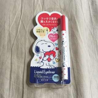 代購 特別版 Snoopy 眼線筆