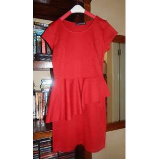 ZARA red dress - fits small to medium