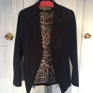 Zara Basic Black Blazer M