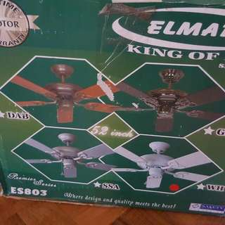 Elmark Brand New Celing Fan
