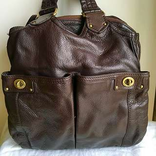 Marc by Marc Jacobs satchel with double front pockets