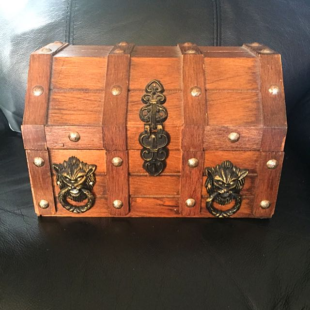 $15 Only Wooden Jewellery Box