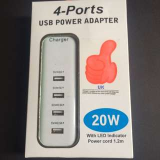 4-Ports With LED