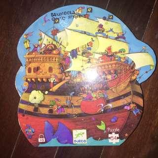 Djeco Pirate Ship Puzzle