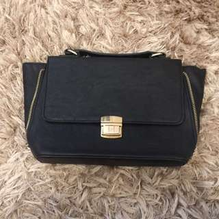 Forever 21 Small Black Handbag