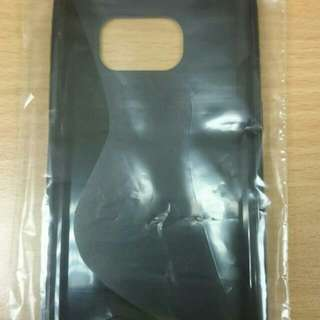 Black Soft Cover For Samsung S7