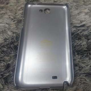 Samsung Note 2 Cover - Silver Gray
