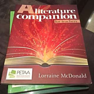 A Literature Companion For Teachers