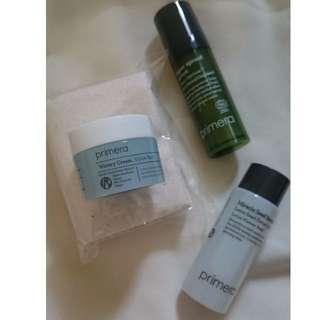 Primera Sprout energy skincare set