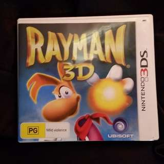 3Ds Game: Rayman 3D