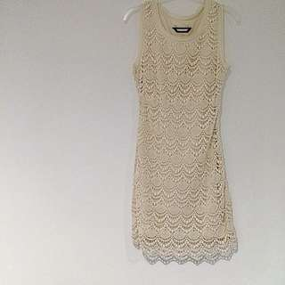 Fate Crochet Lace Dress