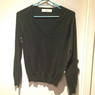 Zara Knit Green Army
