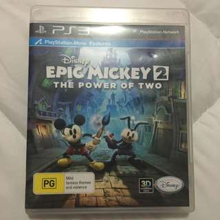 Pre-owned Epic Mickey 2 The Power Of Two