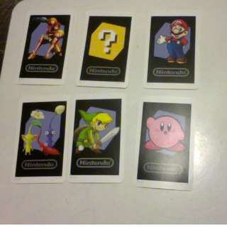 Nintendo 3DS 3d character cards
