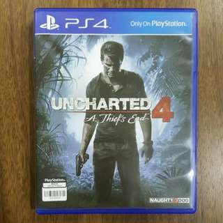 PS4 Uncharted 4 (Reserved)