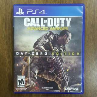 PS4 Call Of Duty Advanced Warfare (Reserved)