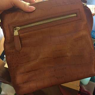 Genuine Leather Sportscraft Cross Over Bag