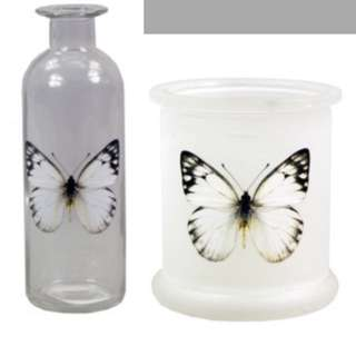 Glass Butterfly Set