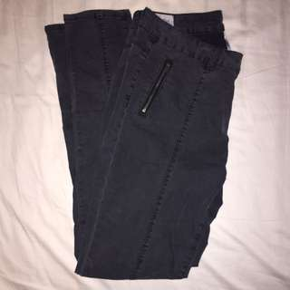 Jeans with Middle Seam Detail