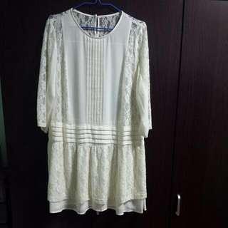 Plus Size Lacey Dress