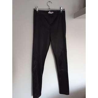 Supre Black Tights/ Disco Pants