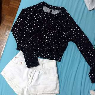 BN Cotton On Crop Top / Sweater