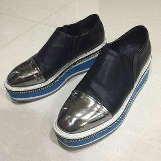 真皮 內增高 客製化 韓版鞋👟