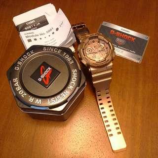 G-Shock Rose Gold Module No: 5081(Reserved )