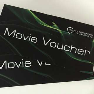 Shaw Movie Tickets X 2