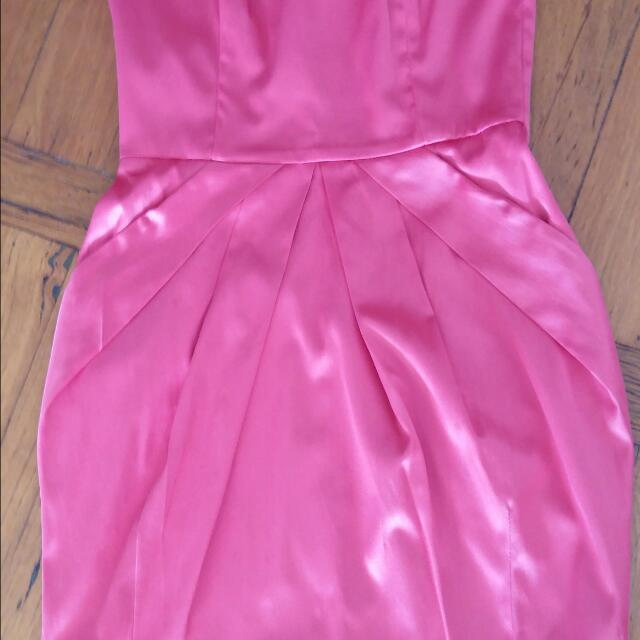7thVision Pink Party Dress