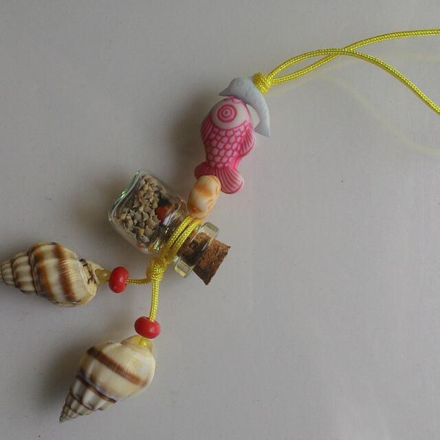 海洋星砂罐吊飾
