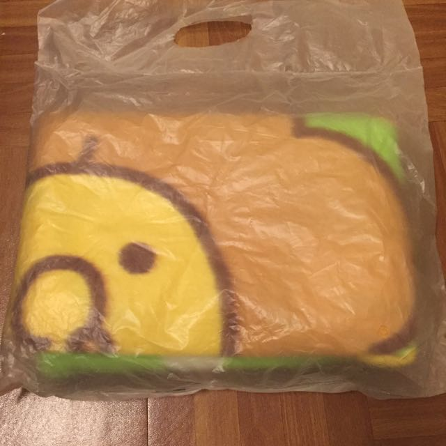 甜甜圈實用小毯