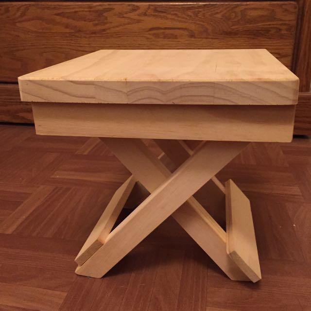 手工折疊小板凳