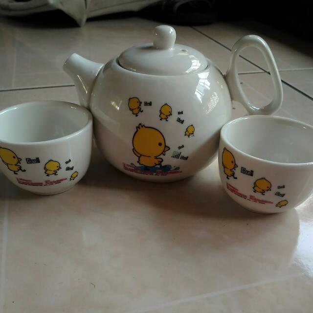 黃色小鴨泡茶組