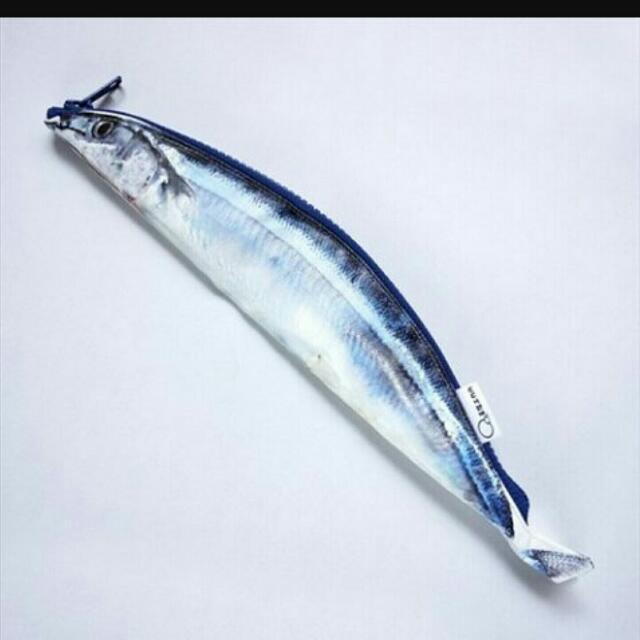 秋刀魚筆袋