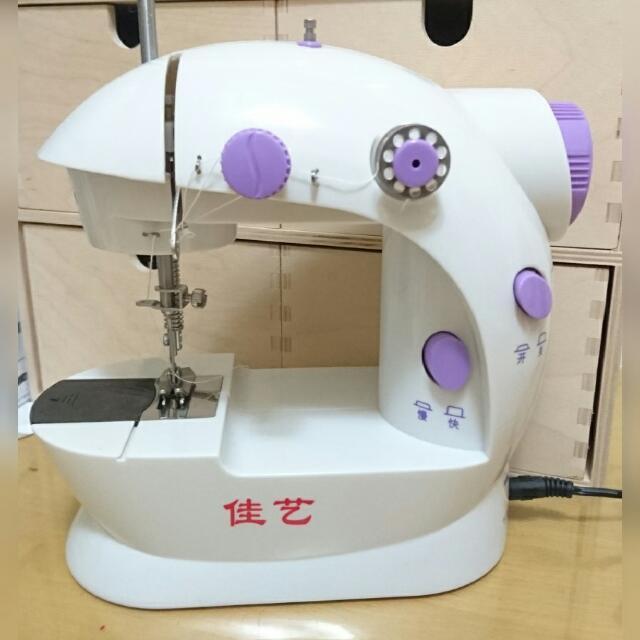 🔝佳藝🔝小型縫紉機 電動縫紉機 🆓送縫紉針1包10支🆓