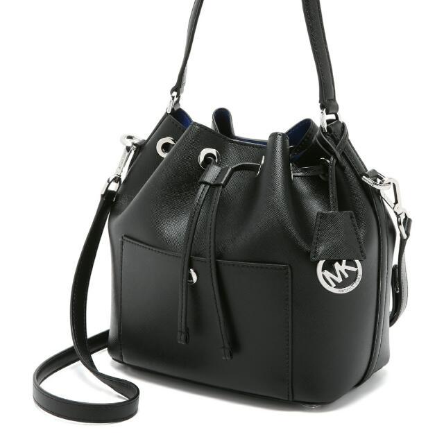 5c3c269c9b3ae 💯% Authentic Michael Kors Greenwich Medium Bucket Bag (price ...
