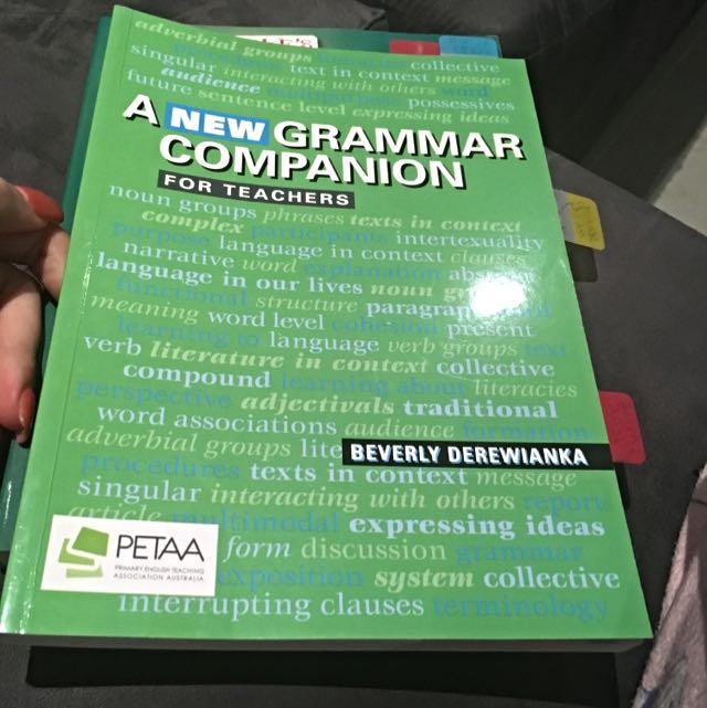 A New Grammar Companion