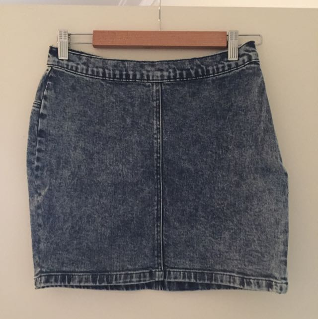 Afends Denim Skirt