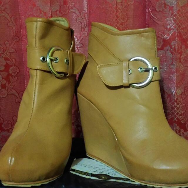 Ankle Wedges Boots Shoes