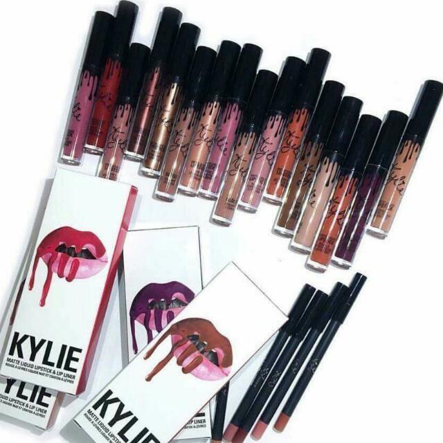 Authentic Kylie Lipkits