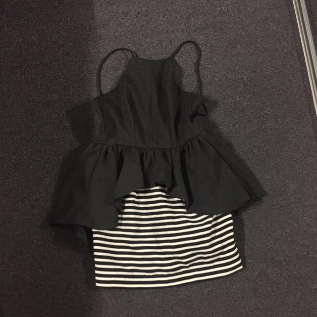 Ava Black Dress