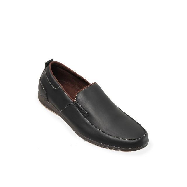 Castor Slip Black Casual Shoes