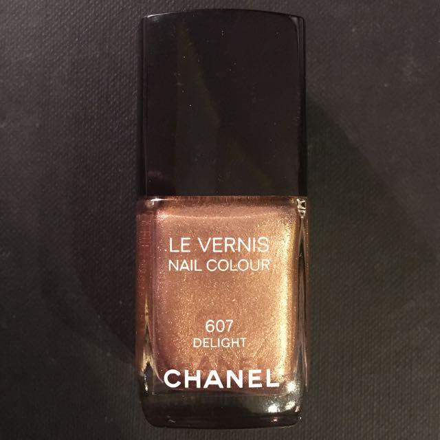 Chanel Nail Polish #607 Delight