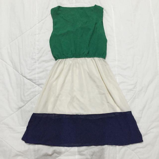 Colorblock Summer Dress
