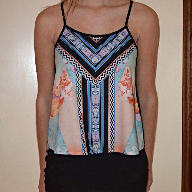Colourful Patterned top